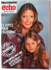 Femmes d'Aujourd'hui du 21/09/1977; 15 Jupes pour l'automne/ paupières à maquill