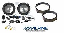 Alpine SXE-1750S Set 4 Arcas para Chevrolet Captiva Anter Sup Altavoces Coche