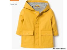 9730df15d7b83 NEW GYMBOREE 2018 LITTLE BOYS YELLOW RAINCOAT JACKET NWT SIZE 18-24 months