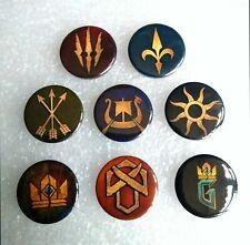Gwent Pin Badges - Witcher, Geralt, ccg, hearthstone, artifact, gwint