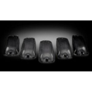 Recon 264159BK Smoked Cab Roof Lights For 1988-2002 Chevy NEW