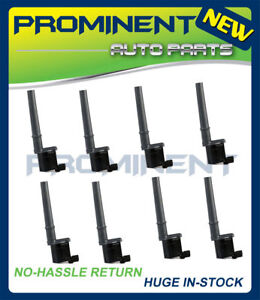 8 Ignition Coils Replacement For Various Ford Mustang Lincoln  V8 UF191