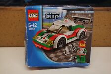 LEGO 60053 City Race Car  including Box Instructions and figure