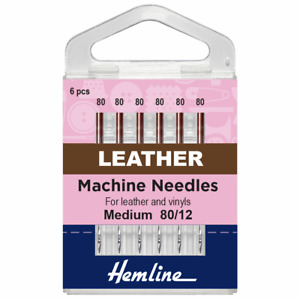 Hemline Klasse Leather Sewing Machine Needles All Sizes All Weights Free P+P