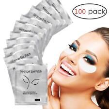 100 Pairs Under Eye pads Eyelash Pad Gel Patch Lint Lashes Extension Mask Eyepad