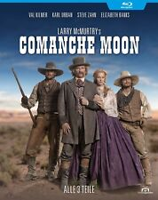 Comanche Moon 1-3 - Miniserie nach Larry McMurtry (Brokeback Mountain) [Blu-ray]