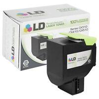 LD Remanufactured Lexmark 80C1SK0 / 801SK Black Toner Cartridge