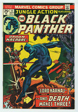 JUNGLE ACTION #11 9.0 HIGH GRADE BLACK PANTHER APPEARANCE OW/W PAGES 1974