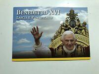 2013 Vaticano Folder Benedetto XVI  Lascia Il Pontificato 50 Cent. Libretto