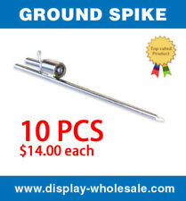 Ground Spike for Swooper Feather Flag Free Spinning Stake Mount (10 PCS)