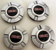 New GMC Sierra Yukon Center Caps Set of 4 for 18 in or 20 in Z71 Wheels Rims