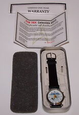 Star Trek Collectible Watch COA #242673 Paramount Pictures 1998 NIB