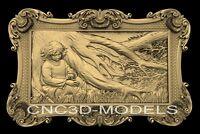3D Model STL for CNC Router Engraver Carving Artcam Aspire Tree Boy Forest n397