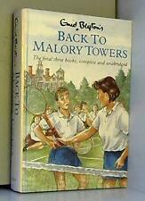 Back to Malory Towers by Blyton, Enid Hardback Book The Fast Free Shipping