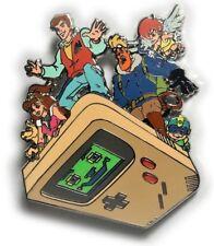 Captain N the Game Master 80s Cartoon Nintendo Fantasy 2.5 in. JUMBO Lapel Pin