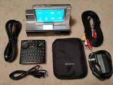 160Gb Archos 605 Wifi Digital Media Mp3 Player With Docking Station & Extras