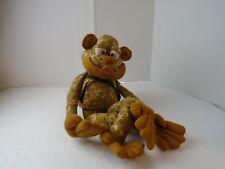 Camo frog Monkey Handmade Plush Doll Homemade Catherine Price artist Missouri