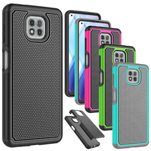 For Motorola Moto G Power/G Play 2021 Phone Case Shockproof Rugged Rubber Cover