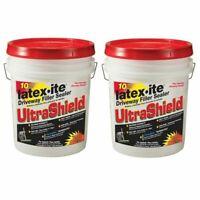 10 Yr Asphalt Driveway Filler Sealer 4.75 Gal. Cracks Patch Repair 2 PACK