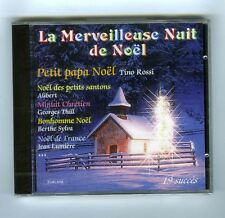 CD (NEUF) LA MERVEILLEUSE NUIT DE NOEL (T.ROSSI M.DUBAS B.SYLVA J.LUMIERE)
