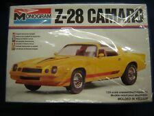 Monogram 1979 Z-28 Camaro KIT #2254 Sealed inside