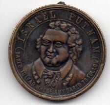 Vintage c.1800's Israel Putnam Phalanx Medal - Hartford Conn