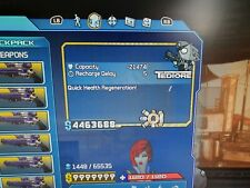 Borderlands 1 GOTY Xbox One Modded Shield and Weapons **God Mode**