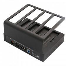 USB 3.0 or eSATA 4 Bay HDD Dock with Raid 0/1/3/5/10 SY-ENC50092