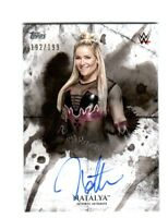 WWE Natalya 2018 Topps Undisputed On Card Autograph SN 192 of 199