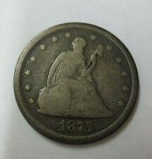 1875-S Twenty Cent Piece CIRC
