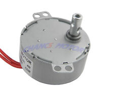 TYC-50 110V AC Low Speed  Synchronous Motor 0.8/1 RPM  CCW  Small Electric Motor