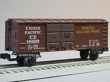 LIONEL JUNCTION UNION PACIFIC O GAUGE BOXCAR train 184032 up BOX CAR 6-81287 NEW