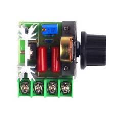 2000W AC Motor Speed Control Controller Adjustable Voltage Regulator 50-220V