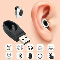 Bluetooth 4.1 Headset Wireless in-ear Stereo Headphones Handfree Earphone Earbud