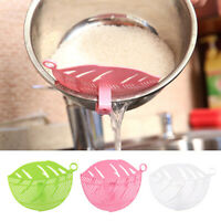 Durable Kitchen Clips Tool Clean Leaf Shape Beans Peas Rice Washer Sieve Filter