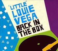 BRAND NEW SS LOUIE VEGA BACK IN THE BOX 2 CD SET DANCE R&B SOUL 2007 NRK MUSIC