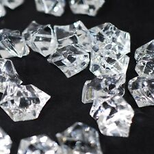 1lb Clear Acrylic Ice Chips Table Scatter Confetti Floral Arranging Vase Filler