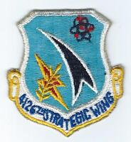 50s-60s 4126th  STRATEGIC WING patch