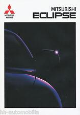 1 Mitsubishi Eclipse Prospekt 1996 9/96 deutsch brochure broschyr broszura