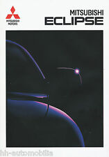 Mitsubishi Eclipse Prospekt 9/96 brochure 1996 Auto PKWs Japan Asien Broschüre