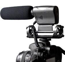 Na-q7 Profesional Escopeta Dv Micrófono Estéreo Para Canon Eos 7d 550d Nikon Dslr