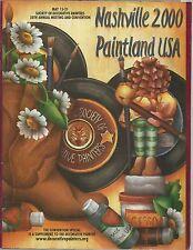 Nashville 2000 Paintland Usa Supplement to The Decorative Artist (Show Catalog)