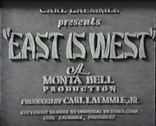 EAST IS WEST 1930 (DVD) EDWARD G. ROBINSON, LUPE VELEZ, LEW AYRES