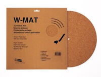 Classic Cork Turntable Mat, W-MAT by Winyl, 3mm thickness 100% natural cork