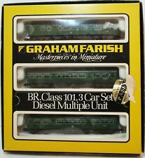 Graham Farish - No.8143 - Class 101 3 Car DMU Weathered - Spares or Repair - (N)