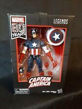 Hasbro Marvel Legends 80th Anniversary Comics Version Captain America NEW IN BOX