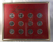 Legends Of The Decade - Framed Commemorative Medal Collection - Sunday Sun - VFL