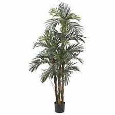 Robellini Palm Silk Tree Realistic Artificial Nearly Natural 5' Home Decor