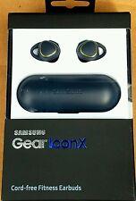 Samsung Gear IconX Earbud Wireless Headphones - Black  *Factory Sealed*