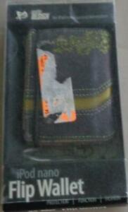 Pacific Design Flip Wallet for Ipod Nano (2nd Gen), BRAND NEW IN PACKAGE -Canvas